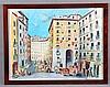 "ABELLÓ, JOAN (Barcelona, 1922-2008). ""Arco de Cuchilleros, 1800"". Pastel so, Joan Abello, €450"