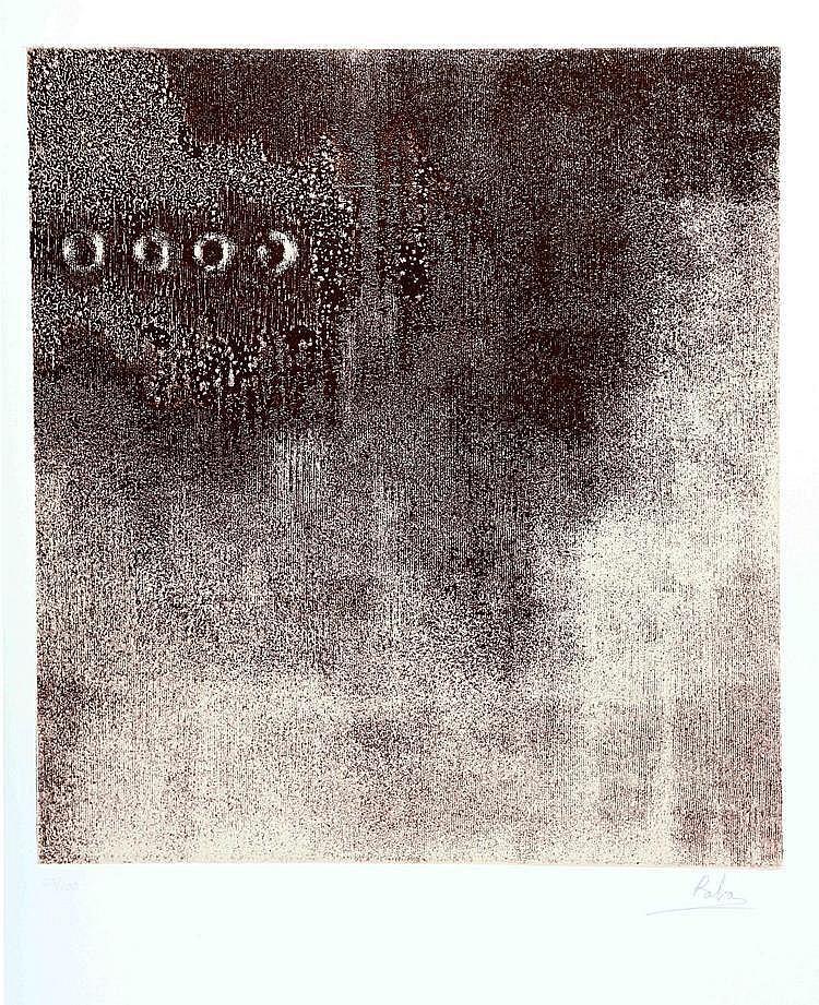 """RABA, MANUEL G. (Santander, 1928) """"Cartas de Noche"""""""