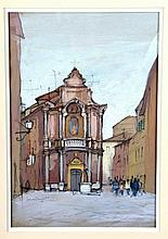 "HAMILTON, PATRICK (England, 1923). ""Old Church"""