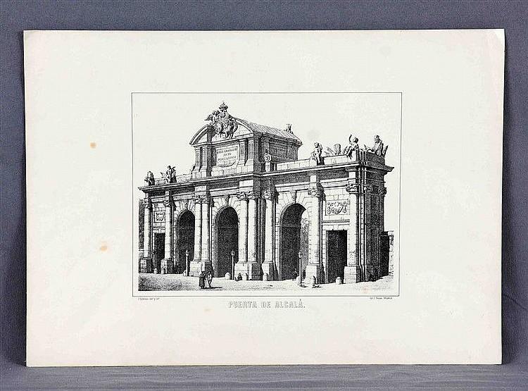 CEBRIÁN GARCÍA, JOSÉ, dibº (1839-1904); DONON, J., lithographer.