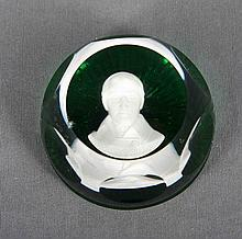 BACCARAT FRANKLIN MINT PAPERWEIGHTS 1977