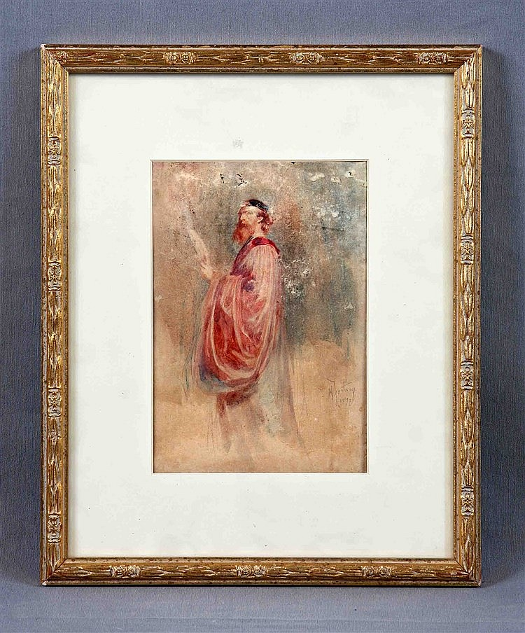 Fortuny attributed to mariano 1838 1874 personaje wa - Fortuny real estate ...