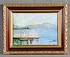 """MATILLA, SEGUNDO (1862-1937). """"Tres barcos"""". Oil on board, Segundo Matilla, €650"""
