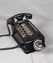 AN ANTIQUE TELEPHONE, CIRCA 1950