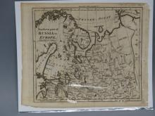 Antique Map : Northern Russia - 1802