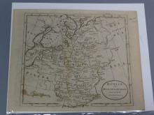 Antique Map : Russia - 1787