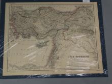 Antique Map : Asia Citerior - 1860's
