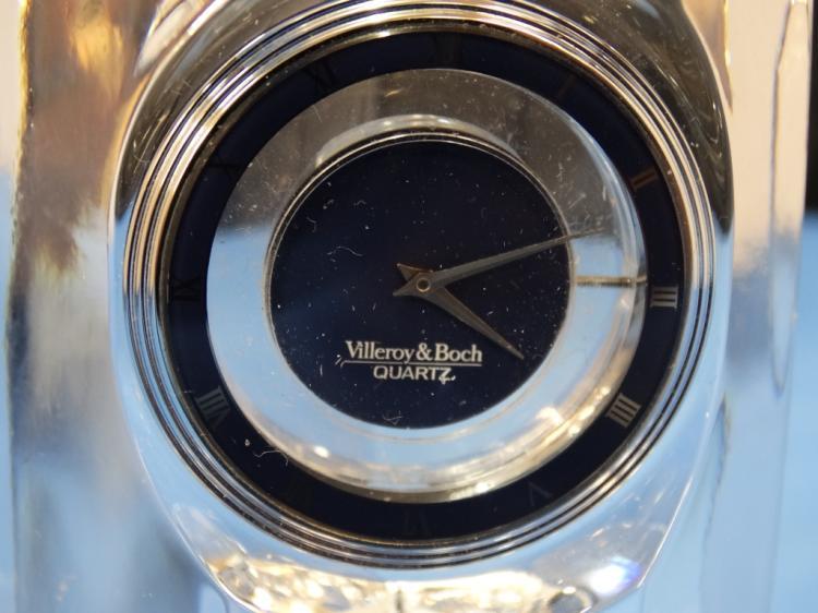 Villeroy boch crystal clock for Villeroy boch crystal