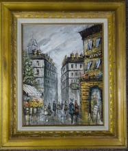 H. DUCHAMP - Oil on Canvas
