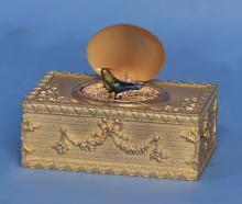 Early 20th Century Animated Singing Bird Box.