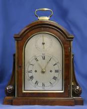 c.1803 Small English Mahogany Bracket Clock.