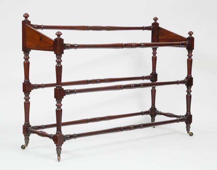 William IV Linen or Blanket Rail, Circa 1840