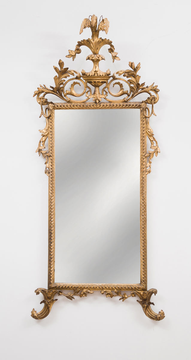 Italian Neo-Classical Giltwood Pier Mirror