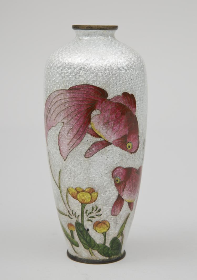 Ginbari cloisonne vase meiji period japanese ginbari cloisonne vase meiji period reviewsmspy