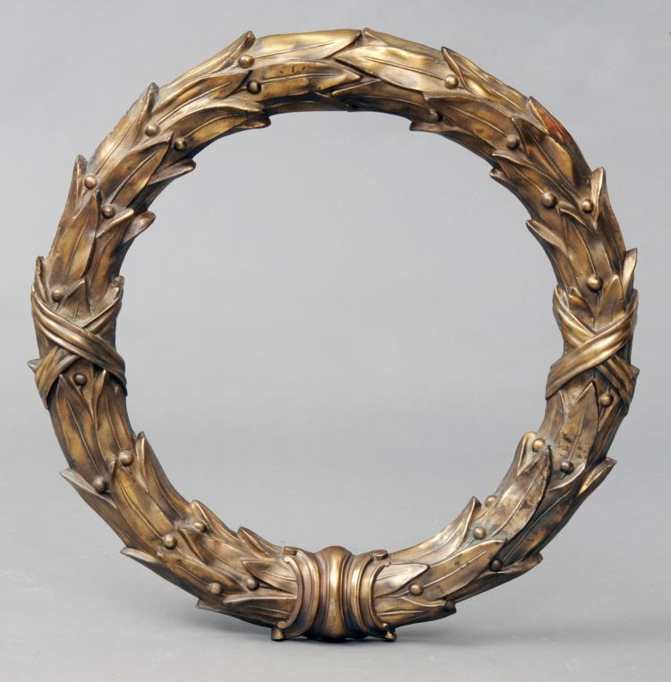 Bronze Door Wreath Circa 1820