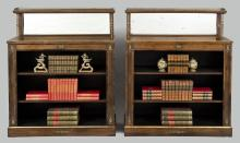 Regency Period Rosewood Bookcases, English Circa 1820