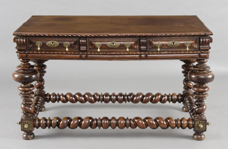 Portuguese Antique Palisander Center Table, Circa 1780