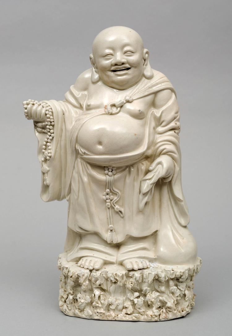 Chinese Blanc de Chine Budai or Pu-Tai