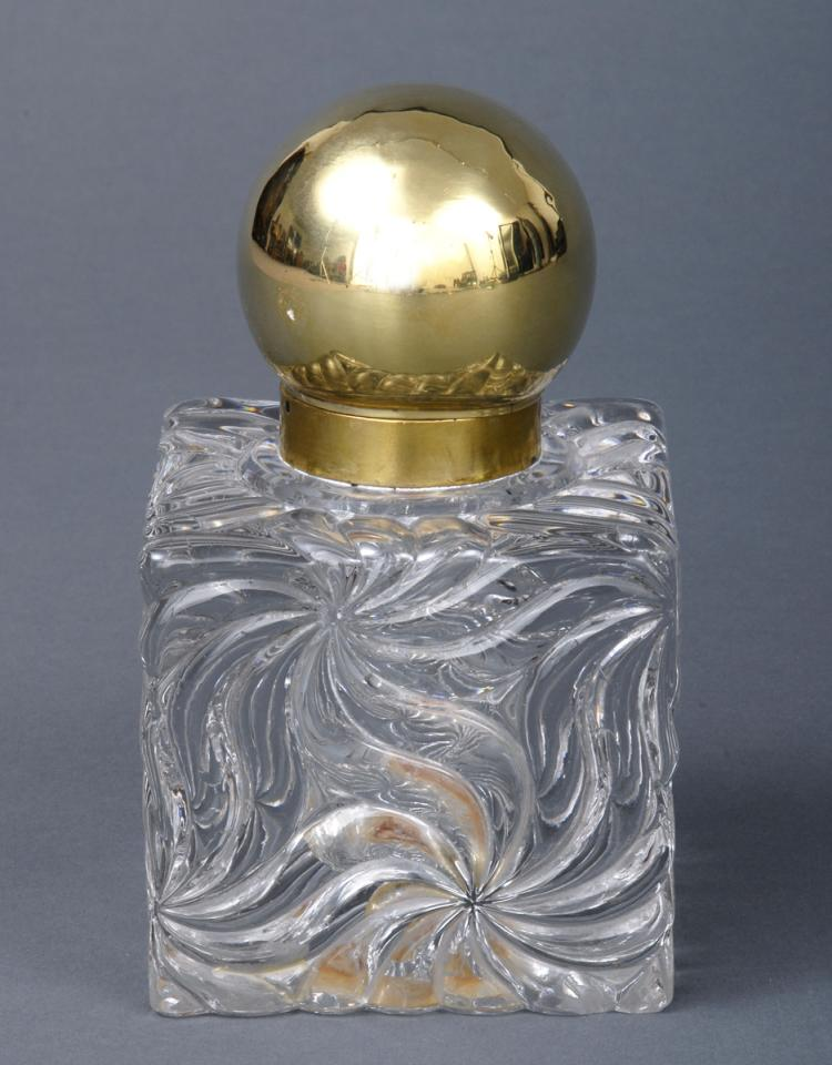 Antique Baccarat Inkwell, Circa 1900