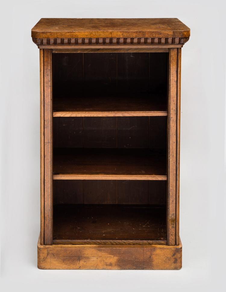 William IV Pollard Oak Bookcase