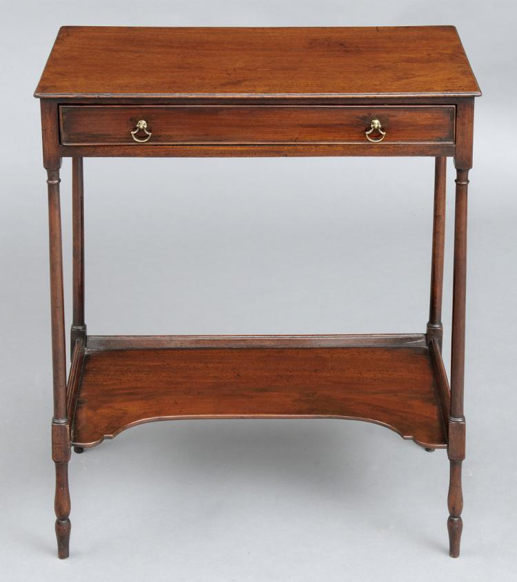 Fine Rare Georgian Side Table, Circa 1770