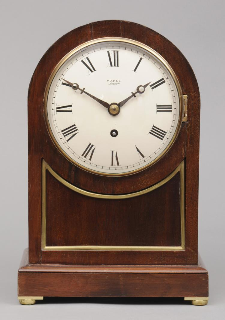 English 8-Day Bracket Clock, Circa 1890
