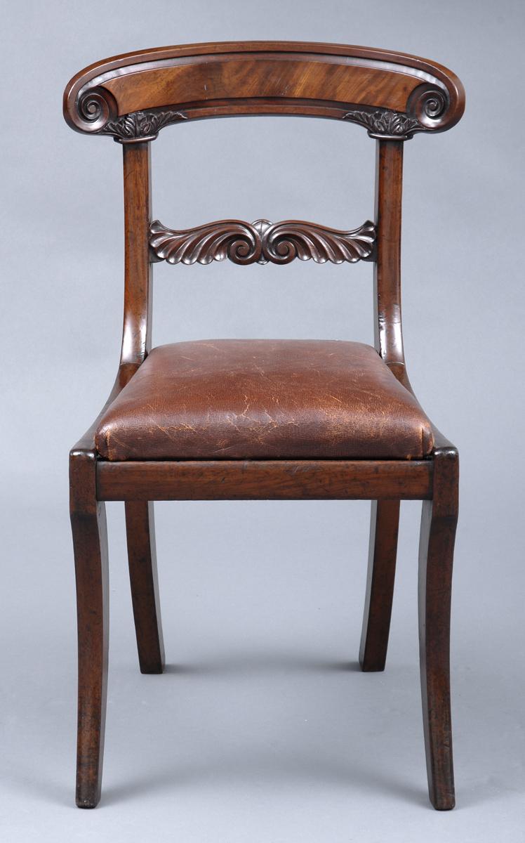 William iv english side chair