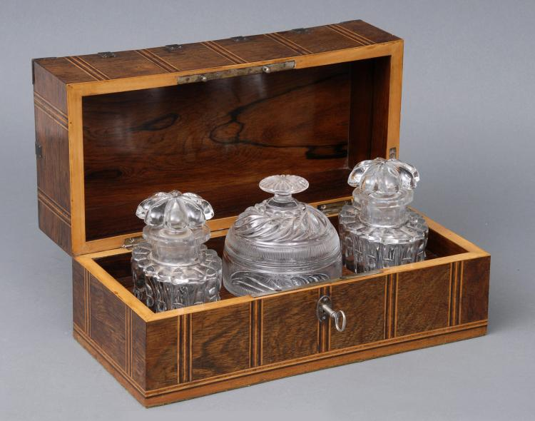 Antique French Tea Caddy, Circa 1860