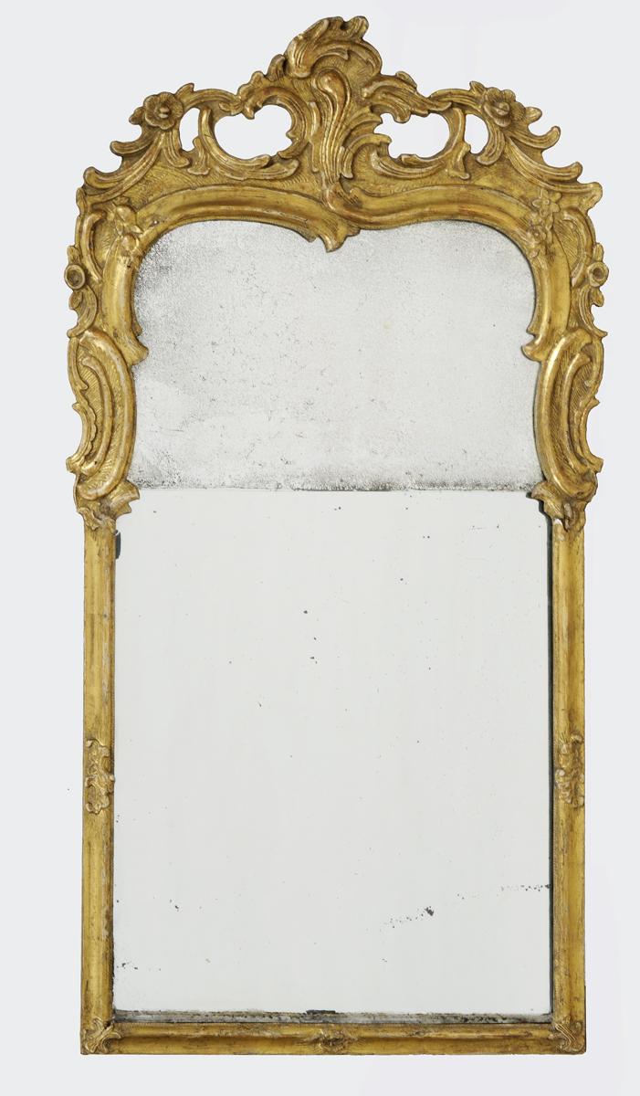 Dutch Rococo Mirror Circa 1760