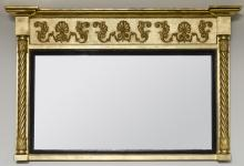 English William IV Overmantle Mirror
