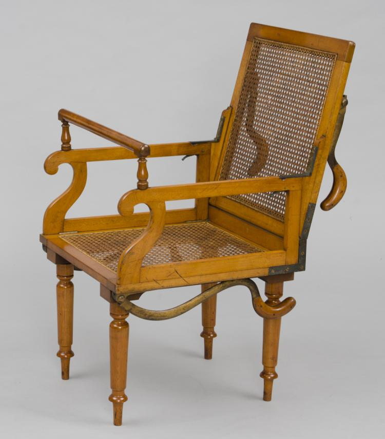 Campaign Folding Armchair, Maker: J. Alderman, London, Circa 1870