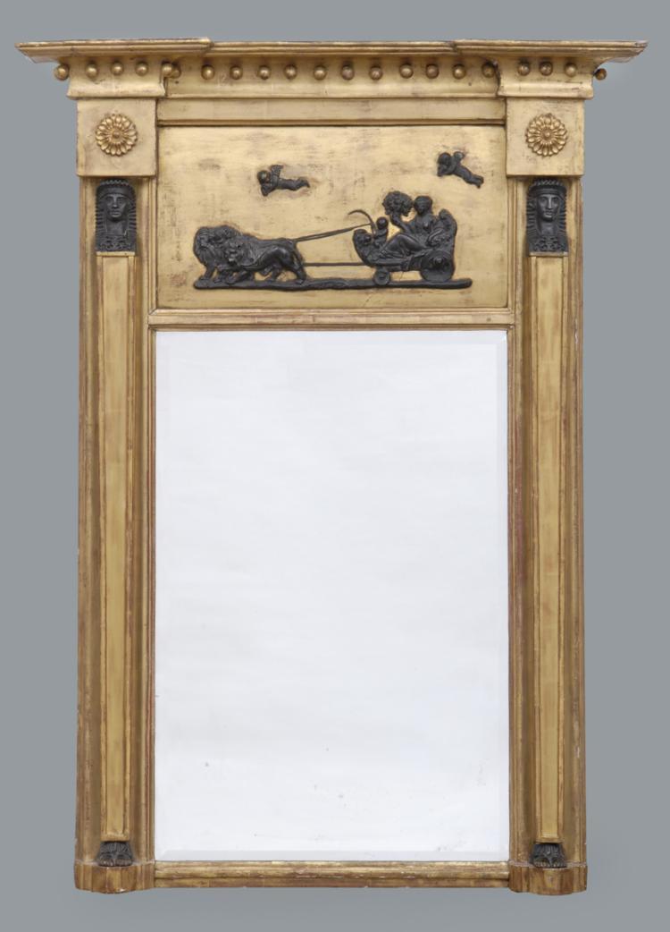 Regency Giltwood Pier Mirror