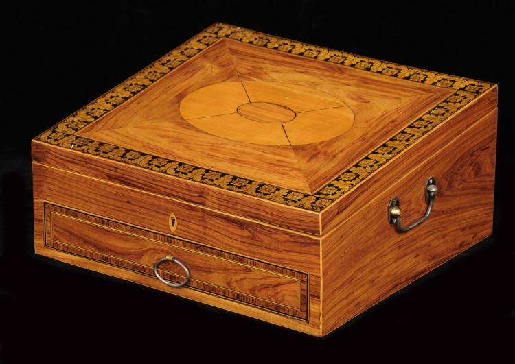 Regency Ladies Toilet Box, Circa 1820