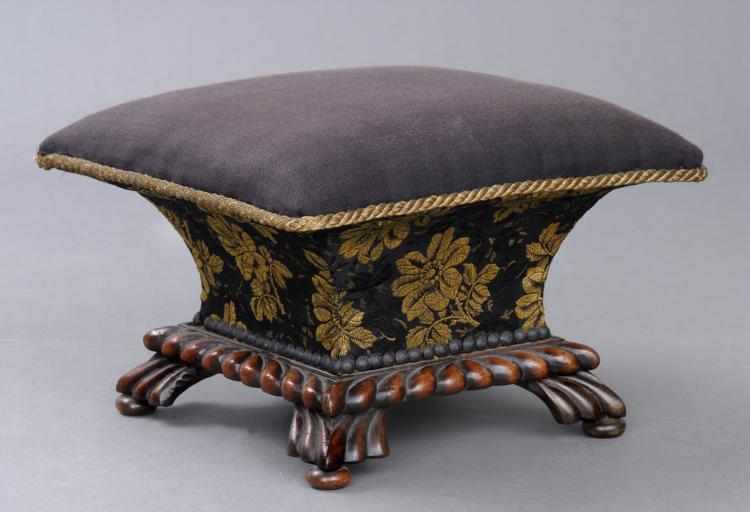 English Regency Ladies Footstool