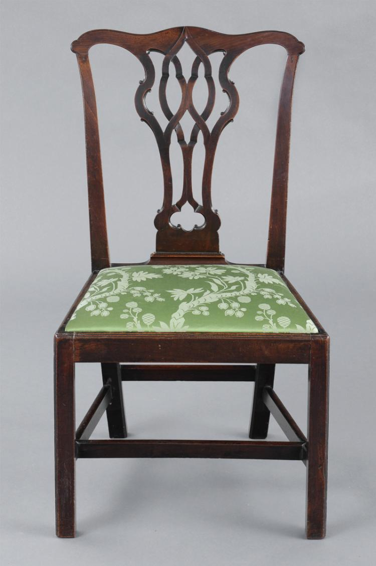 Fine English Antique Chippendale Side Chair
