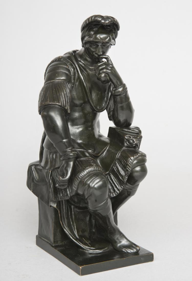 Italian Grand Tour Bronze Figure of de' Medici
