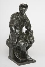 Italian Grand Tour Bronze Figure of de' Medici