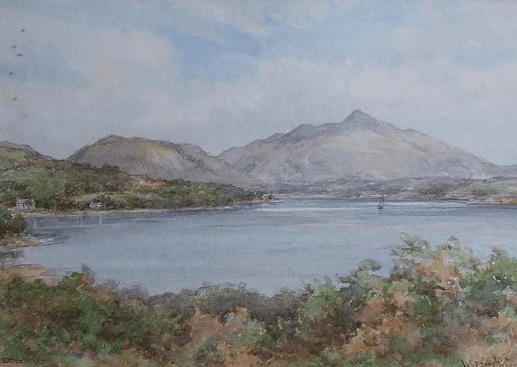 Watson Wood (1900-1985) LOCH ETIVE Watercolour.