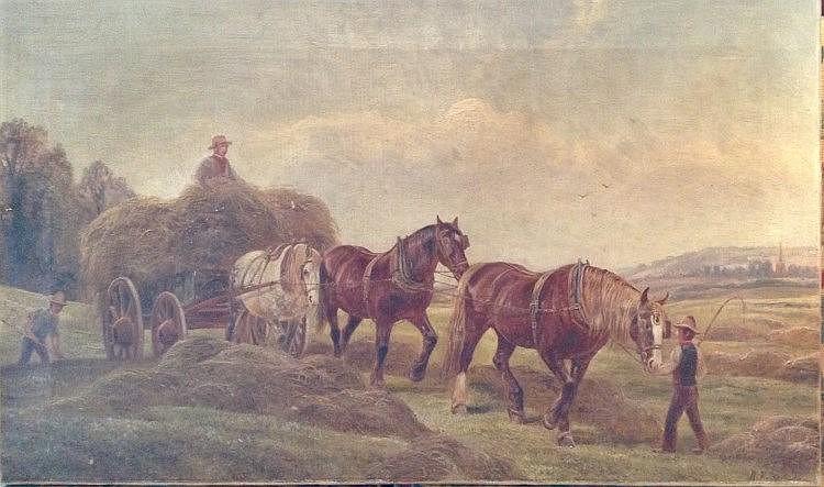 WILLIAM VIVIAN TIPPETT, BRITISH, 1833 - 1910, OIL ON CANVAS