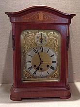 Open. eBay. Antique German - GUSTAV BECKER - Wall clock at The clock is running very well.