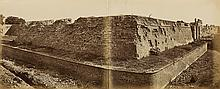 BEATO, FELICE (1832-1909) Group of 6 choice photographs of the Indian Rebellion, including a 2-part panorama entitled