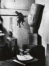 KERTÉSZ, ANDRÉ (1894-1985) Studio still life.