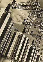 BOURKE-WHITE, MARGARET (1904-1971) Generators.