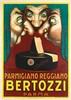LUCIANO ACHILLE MAUZAN (1883-1952). BERTOZZI. 1930. 55x39 inches, 139x99 cm. Mauzan Morzenti, Milan., Achille Lucien Mauzan, $1,500