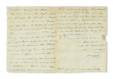 (AMERICAN REVOLUTION--1782.) Hull, William. A colonel struggles to obtain hats for his regiment.