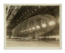 (AVIATION.) Archive of ephemera relating to the Goodyear Zeppelin Corporation.