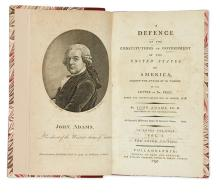 (LAW.) Adams, John. A Defence of the Constitutions of Government of the United States of America.
