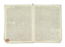 (PENNSYLVANIA.) First publication of William Penn''s 1682 farewell letter to his family on leaving for Pennsylvania.