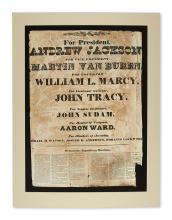 (PRESIDENTS--1832 CAMPAIGN.) For President Andrew Jackson, for Vice President Martin Van Buren.
