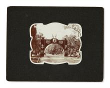 (PRESIDENTS--1901.) Group of photographs and ephemera relating to McKinley''s death and memorial.